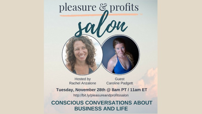 Pleasure & Profits Salon :: Episode 3 with Caroline Padgett